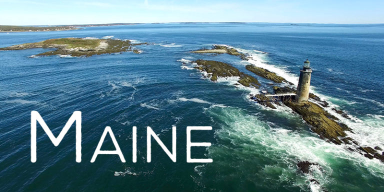 Maine From The Sky - New England 4K Aerial Drone Footage