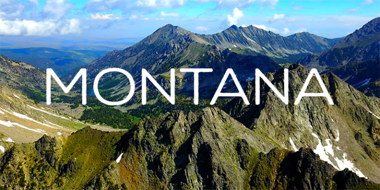 Montana By Drone - Our Exclusive 4K Mountain Footage - Glacier National Park (Eastern Border)