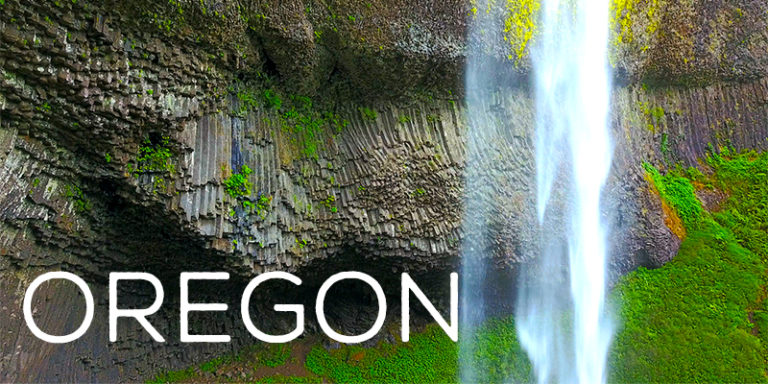 Oregon By Drone - Exclusive 4K Footage - Pacific Coast, Whale Watching, Portland Views & More