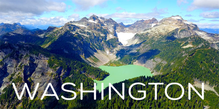 Washington By Drone - Amazing 4K Nature Footage With A Touch Of Seattle