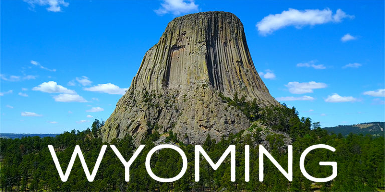 Wyoming By Drone - Exclusive 4K Footage - Rock Climbing Devil's Tower, Hiking The Falls & More